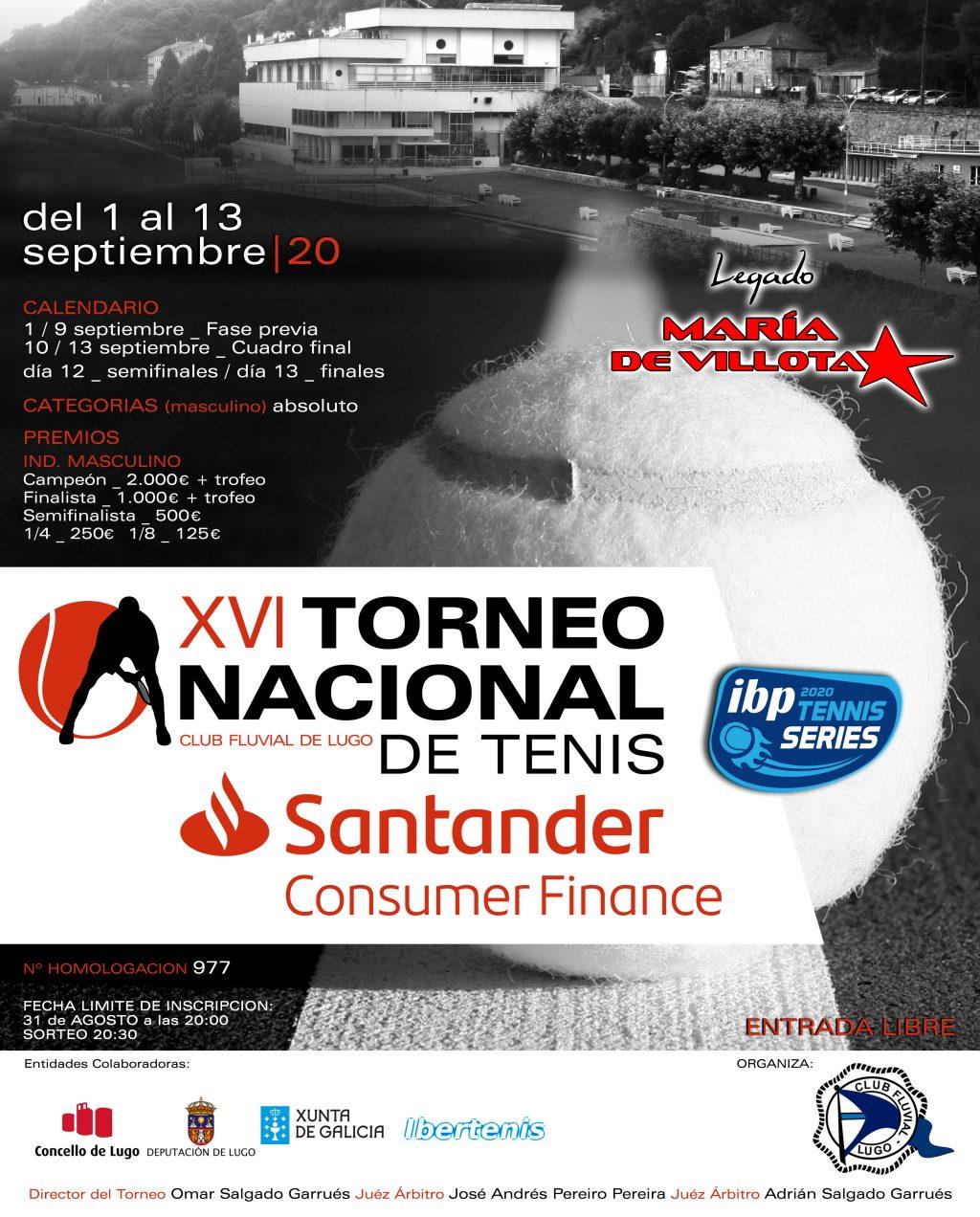 XVI torneo nacional de tenis Lugo