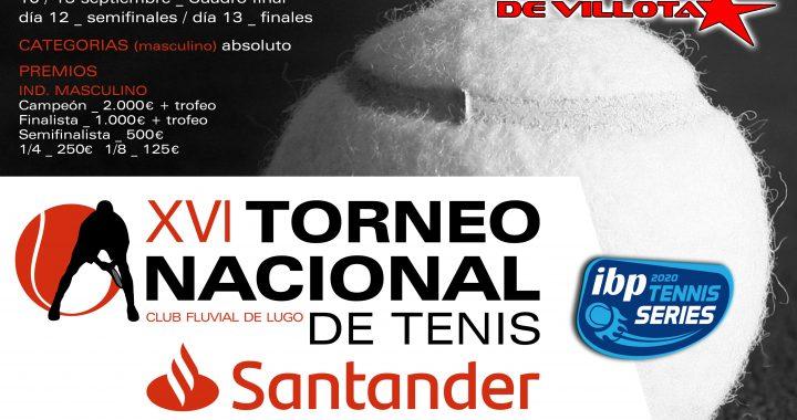 XVI Torneo Nacional de Tenis de Lugo