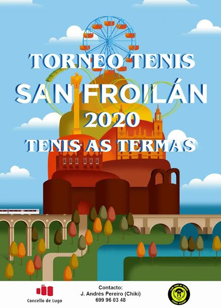 cartel torneo tenis san froilan 2020