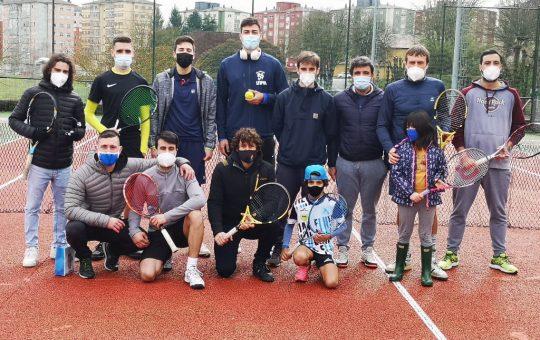 Primeira xornada Interclubes 2021. Clube de Tenis Fluvial de Lugo.