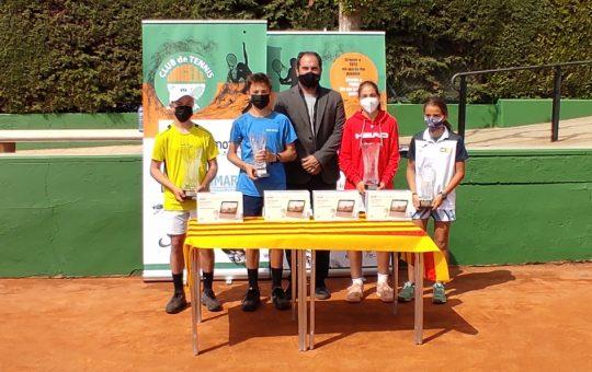Andrés Pereiro, campión do trofeo Albert Costa 2021