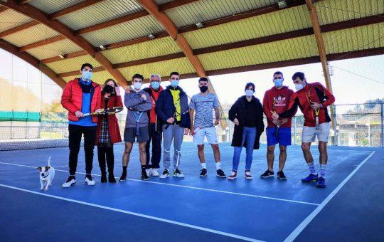 Segunda xornada Interclubes 2021. Tenis Compostela