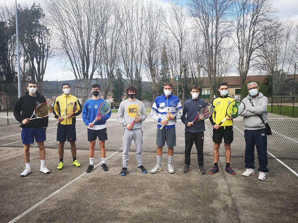 clube de tenis cdl e clube USC de Compostela