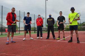 Integrantes do CDL Cidade de Lugo de Tenis